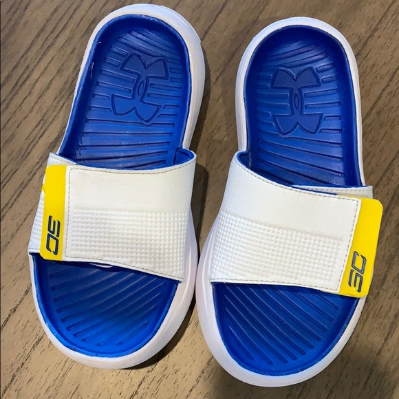 Under Armour Shoes   Steph Curry Boys